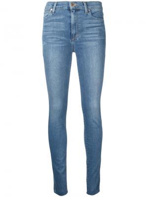 Джинсы скинни с потертостями Joes Jeans Joe's. Цвет: синий