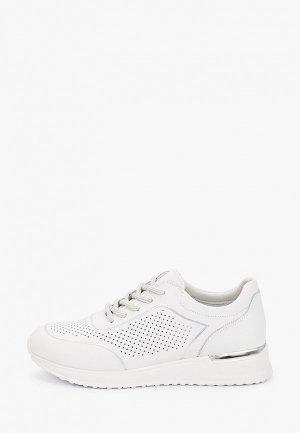 Кроссовки Francesco Donni. Цвет: белый