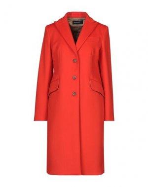 Пальто FABRIZIO LENZI. Цвет: красный