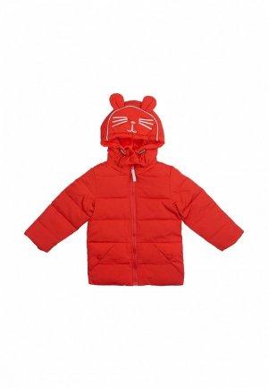 Куртка утепленная Born. Цвет: красный