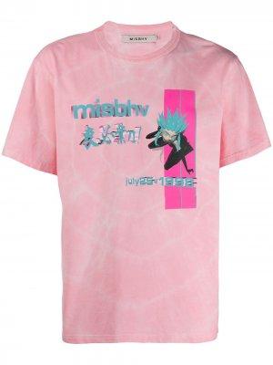 Футболка July25 Misbhv. Цвет: розовый