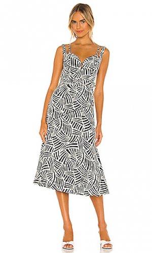 Платье minasa Alexis. Цвет: черный