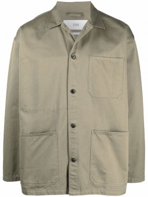 Куртка-рубашка на пуговицах Closed. Цвет: зеленый
