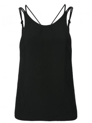 Cross back tank top Iro. Цвет: чёрный