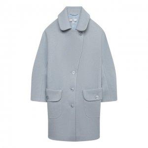 Пальто Zhanna & Anna. Цвет: синий