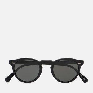 Солнцезащитные очки Gregory Peck Polarized Oliver Peoples. Цвет: чёрный