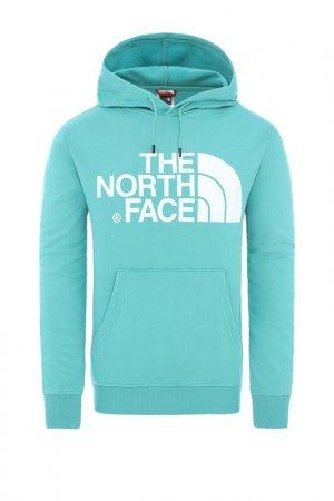 Толстовка THE NORTH FACE. Цвет: голубой