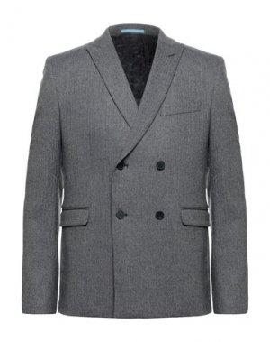 Пиджак EXTENDED by MINIMUM. Цвет: свинцово-серый