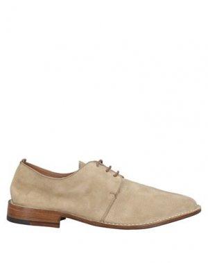 Обувь на шнурках CALPIERRE. Цвет: бежевый