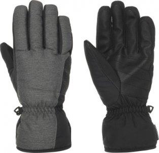 Перчатки мужские , размер 10,5 Ziener. Цвет: серый