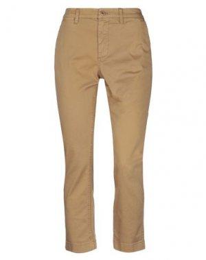 Повседневные брюки J.CREW. Цвет: верблюжий