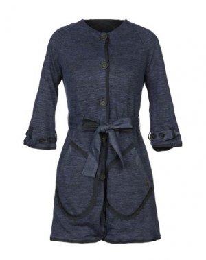 Легкое пальто BARK. Цвет: синий