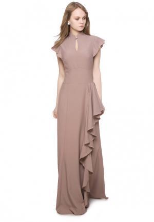 Платье Marichuell MARTA. Цвет: бежевый