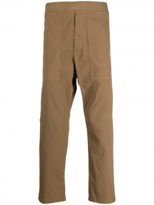Брюки с карманами сзади Barena. Цвет: коричневый