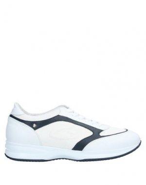 Кеды и кроссовки ALBERTO GUARDIANI. Цвет: белый