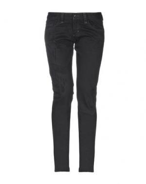 Джинсовые брюки HENRY COTTON'S. Цвет: черный