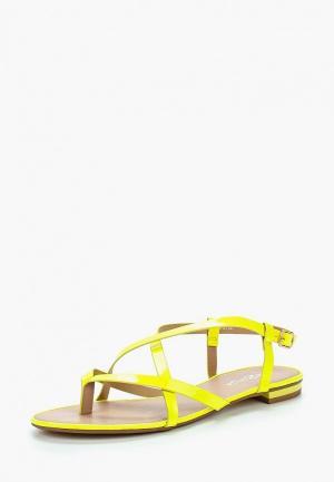 Сандалии Amazonga AM338AWBROX0. Цвет: желтый