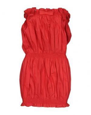Короткое платье ANNA K. Цвет: красный