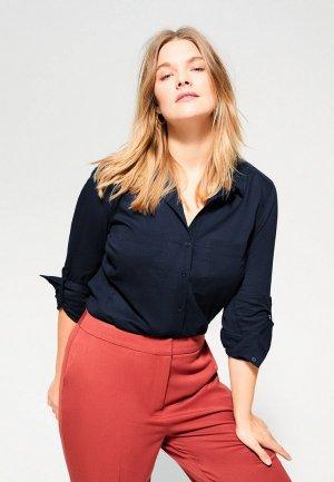 Блуза Violeta by Mango - PLANA6. Цвет: синий