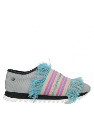 Кеды и кроссовки JUDARI. Цвет: светло-серый