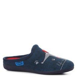 Тапочки LA MAISON DE LESPADRILLE RV6760-2 темно-синий L'ESPADRILLE