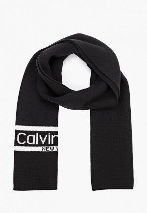Шарф Calvin Klein. Цвет: черный