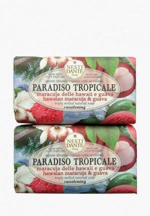 Набор для ухода за телом Nesti Dante Мыло Hawaiian Maracuja & Guava / Маракуя и Гуава, 2*250г. Цвет: разноцветный
