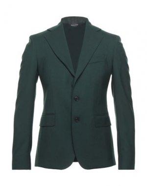 Пиджак BRIAN DALES. Цвет: темно-зеленый