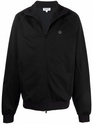 Куртка-бомбер с нашивкой Tiger Kenzo. Цвет: черный