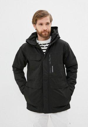 Куртка утепленная Didriksons SEBASTIAN. Цвет: черный