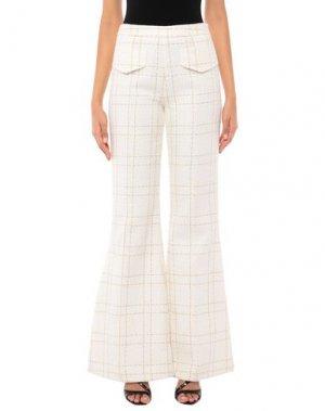 Повседневные брюки CAMILLA AND MARC. Цвет: белый