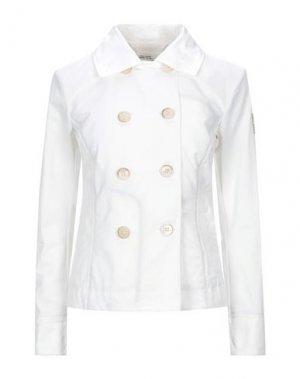 Куртка DEKKER. Цвет: белый
