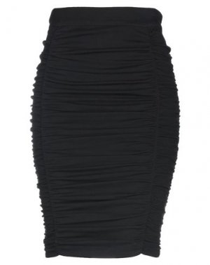 Юбка до колена HANITA. Цвет: черный