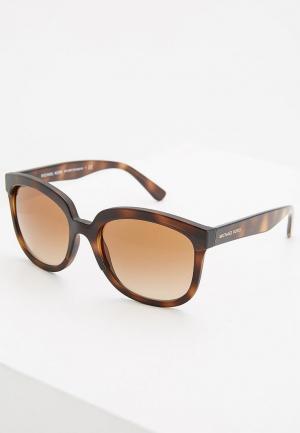 Очки солнцезащитные Michael Kors MK2060 333613. Цвет: коричневый