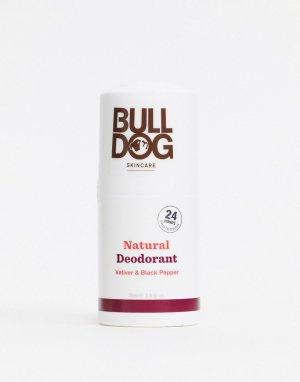 Дезодорант с черным перцем и ветивером Bulldog
