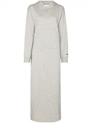 Платье макси из коллаборации с New Balance STAUD. Цвет: серый