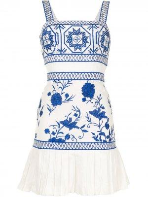 Платье Asteria Alexis. Цвет: белый
