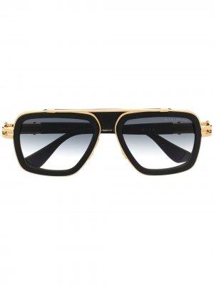 Солнцезащитные очки LXN-EVO Dita Eyewear. Цвет: черный