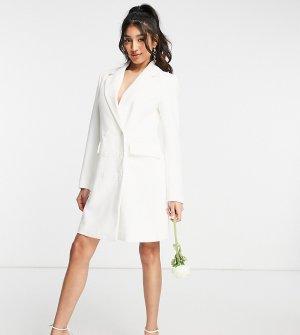 Эксклюзивное белое свадебное платье-блейзер -Белый Y.A.S