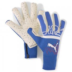Вратарские перчатки FUTURE Z Grip 1 Hybrid Goalkeeper Gloves PUMA. Цвет: синий