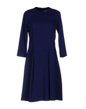 Короткое платье AAIKO. Цвет: ярко-синий