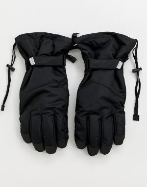 Черные горнолыжные перчатки ASOS 4505. Цвет: черный