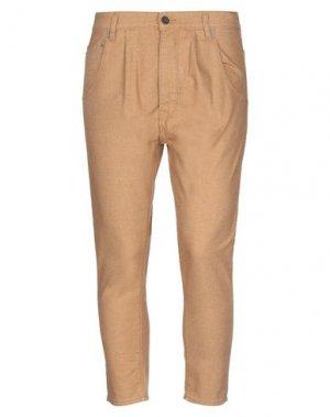 Джинсовые брюки NOVEMB3R. Цвет: верблюжий