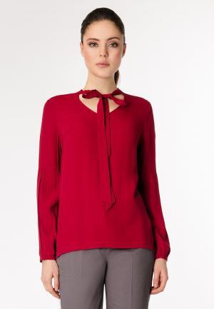 Блуза Pompa. Цвет: красный