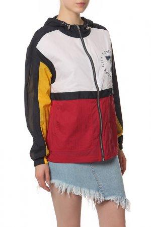 Ветровка. Tommy Jeans. Цвет: 901 ski patrol, multi
