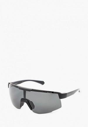 Очки солнцезащитные Polaroid PLD 7035/S 003. Цвет: черный