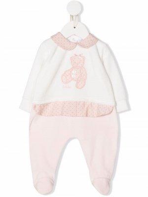 Ромпер с аппликацией Le Bebé Enfant. Цвет: розовый
