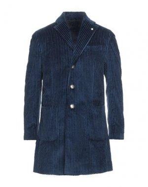 Легкое пальто BRANDO. Цвет: темно-синий