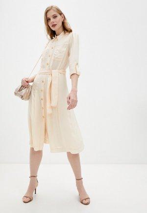 Платье Marciano Los Angeles. Цвет: бежевый