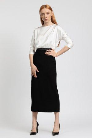 Контрастное платье - миди VASSA&Co